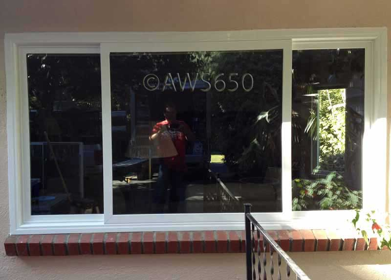 Milgard window replacement in Menlo Park
