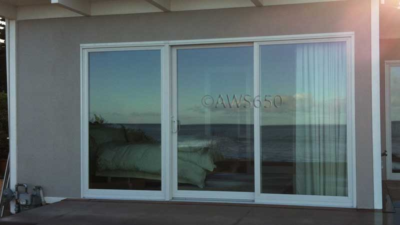 Patio Door ocean side