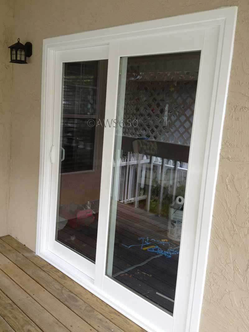 Replacement windows before and after photos for 6 foot exterior french doors