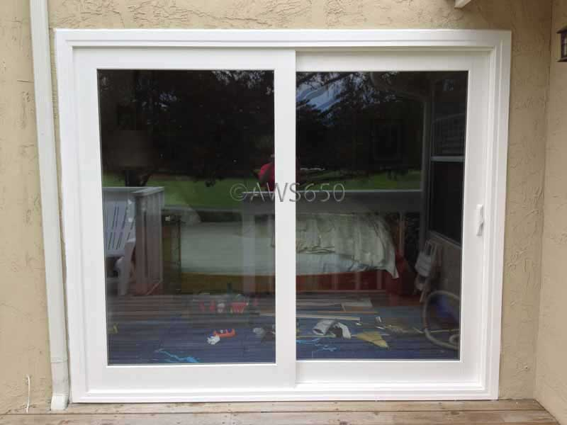 Milgard French Rail Patio Door installed in Half Moon Bay