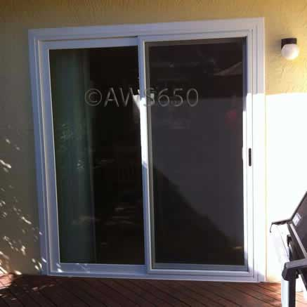 Milgard Vinyl Patio Door Installation in Redwood City